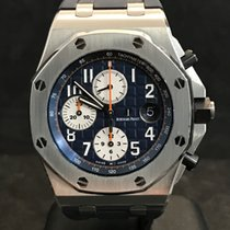 Audemars Piguet Royal Oak Offshore Chronograph Navy Blue -...