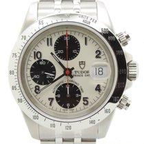 Tudor Prince Date Chronograph White Bianco Perfect Conditions