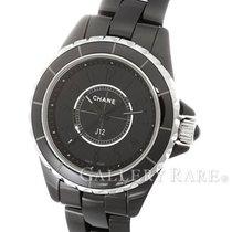 Chanel J12 Intense Black Ceramic 29MM Ladies Watch