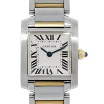 Cartier 2384 Tank Francaise Roman Dial Watch