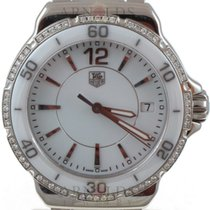 TAG Heuer 2007 Ladies Formula 1 White Ceramic And Stainless Steel