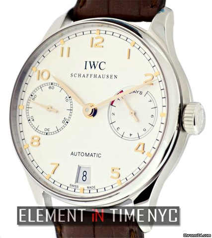 IWC Portuguese Automatic 7 Day Power Reserve 5001-14