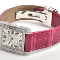 Cartier- Tank Anglaise Mittleres Modell, Ref. WT100030