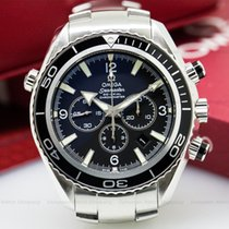 Omega 2210.50.00 Seamaster Planet Ocean Co-Axial Chronograph...