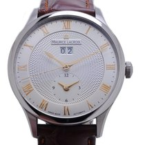 Maurice Lacroix Masterpiece Date GMT Watch MP6707-SS001-111