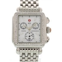 Michele Deco Chronograph Diamond & Stainless Steel 71-6000