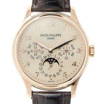 Patek Philippe New  Complications 18k Rose Gold Beige Automati...