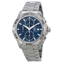 TAG Heuer Aquaracer Chronograph blue dial