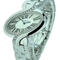 Cartier WG800007 Delices de Cartier in White Gold with Diamond...