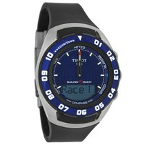 Tissot T-Touch Sailing Mens Blue Dial Quartz Watch T056.420.27...