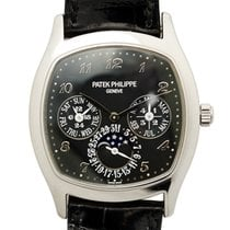 Patek Philippe New  Complications 18k White Gold Black...