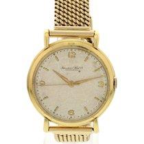 IWC Men's Vintage IWC Schaffhausen 18k Yellow Gold Watch