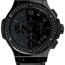 Hublot BIG BANG Shiny All Black Chronograph 41mm in Keramik
