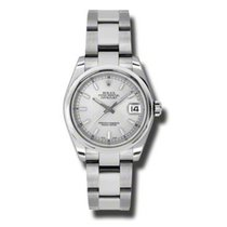 Rolex Lady-Datejust Stainless Steel Watch