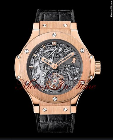 Hublot BIG BANG MINUTE REPEATER TOURBILLON SKELETON ROSE GOLD LTD