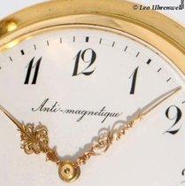 IWC Schaffhausen Antimagnetic 14K gold gent's HC pocket watch
