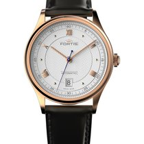 Fortis Terrestis 19fortis Am Classical Auto Watch 18k R/gold...