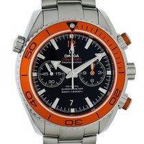 Omega Seamaster Planet Ocean 600m Co-Axial Chonograph Stahl...