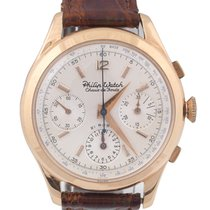 Philip Watch Vintage Chronograph Yellow Gold
