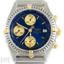 Breitling Uhr Windrider Chronomat Edelstahl/ Gold B13047 Revision