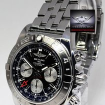 Breitling Chronomat 44 GMT Steel Mens Chronograph Watch...
