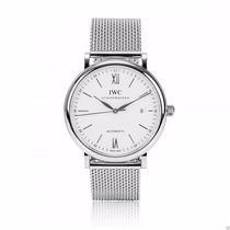 IWC Portofino Automatic 40mm Stainless Steel IW356505 Box and...