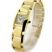 Cartier W650037H Tankissime Small Size - Yellow Gold on Bracelet