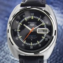Seiko 5 Sports Men Vintage 1970 Stainless Steel Made in Japan...
