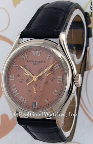 Patek Philippe 5035G Annual Calendar, White Gold, Red Gold Dial