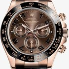 Rolex Daytona  Rose/Pink Gold - Chocolate Dial - Unworn