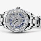 Rolex Masterpiece 18K Solid White Gold Diamonds