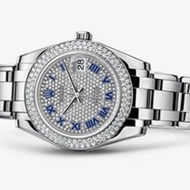 Rolex Masterpiece 18K Solid White Gold Diamonds