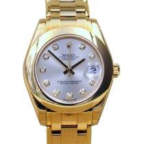 Rolex Datejust Masterpiece 81208 Ladies 34mm White Factory...
