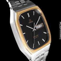 Omega 1984 Seamaster Classic Retro Vintage Mens Quartz Watch, Day