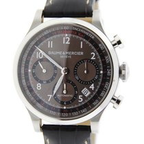 Baume & Mercier Capeland Chronograph Brown Dial Stainless...