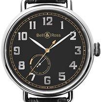 Bell & Ross Vintage WW1 BRWW197-HER-ST/SCR NEU mit B+P