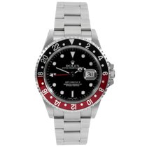 Rolex GMT Master II 16710 Classic Stainless Steel Black Dial...