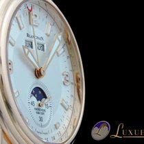 Blancpain Leman Calendar Mondphase Vollkalender 18kt Rotgold...