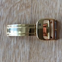 Jaeger-LeCoultre 16mm YELLOW GOLD Folding Clasp faltschliesse...