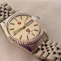 Rado Purple Horse day/date  ,with  original bracelet, serviced