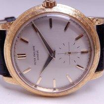Patek Philippe Calatrava Automatic 18k Yellow Gold 1950s Watch...
