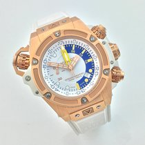 Hublot King Power Oceanographic 1000 King Gold White 48mm