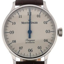 Meistersinger Pangaea 40 Automatic Brown Leather
