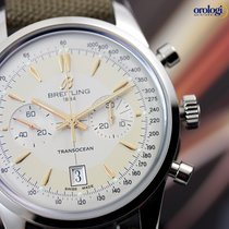 Breitling Transocean Chronograph Boutique Edition Steel on...
