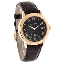 Raymond Weil Maestro Mens Rose Gold Swiss Automatic Watch...