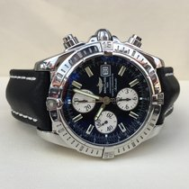 Breitling Chronomat Evolution Steel Black Dial 44 mm (Full Set)
