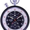 Heuer Pocket Watch Rattrapante Split Second Chronograph 1/5 +...