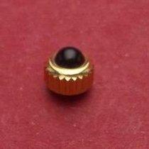 Longines Krone in doublé mit schwarzem Cabochon wasserdicht