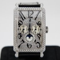Franck Muller Long İsland Master Banker full Diamonds