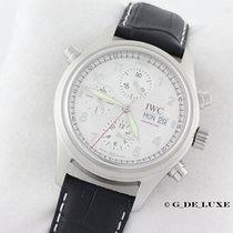 IWC Doppelchronograph Automatik Rattrapante Ref 3713 Herrenuhr